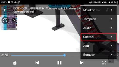 Cara Menampilkan Subtitle di Smartphone Menggunakan Aplikasi Mx Player