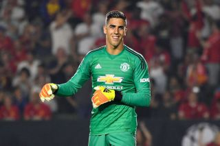 Huddersfield completes the signing of Manchester United keeper Joel Pereira