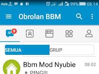 BBM MOD v3.3.5.49 APK Terbaru Full Display Picture