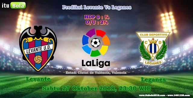 Prediksi Levante Vs Leganes - ituBola