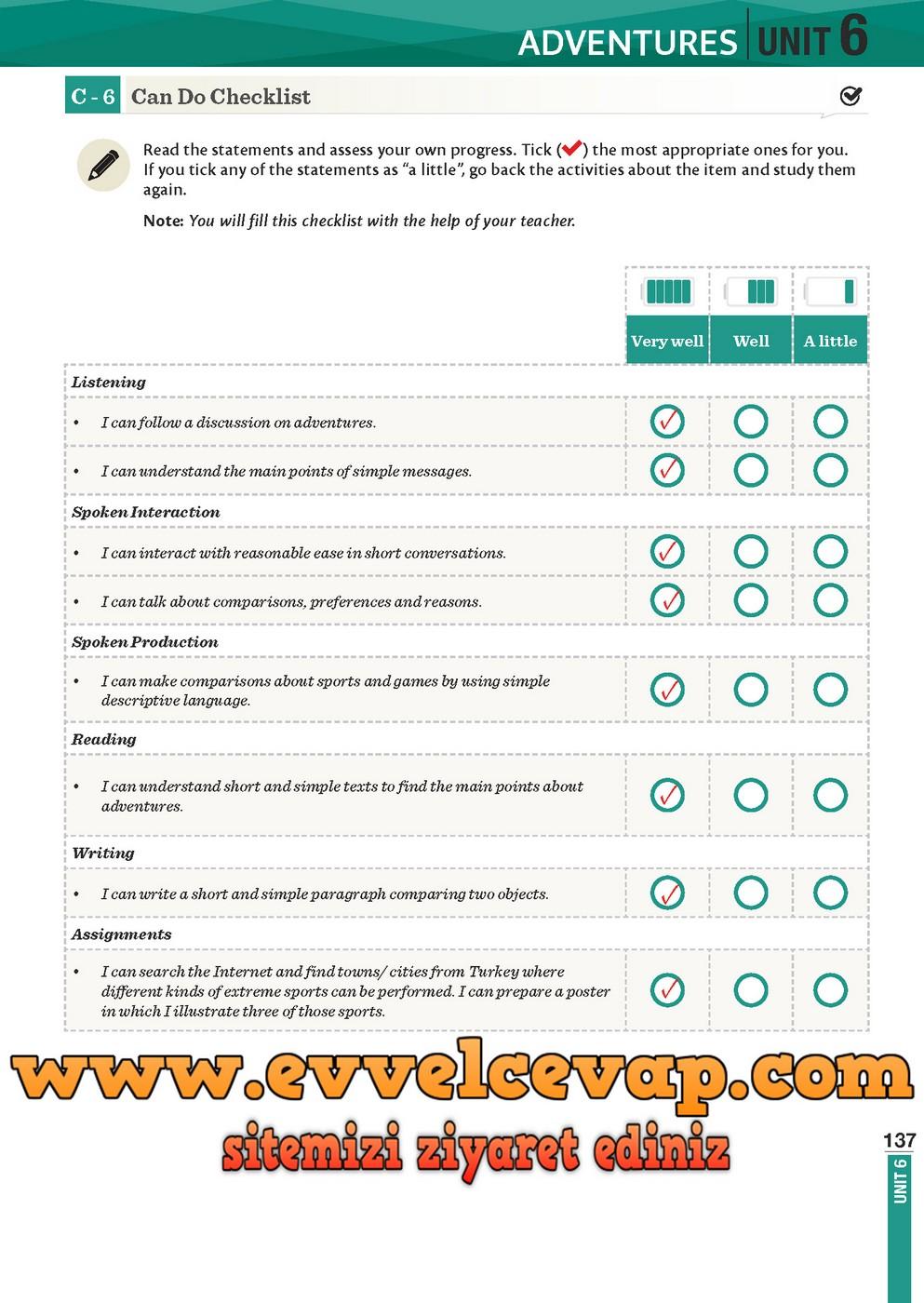 8 Sınıf Ingilizce Ders Kitabı Cevapları Meb Yayınları Dkc
