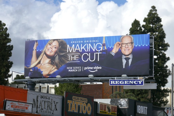 Making the Cut season 1 billboard