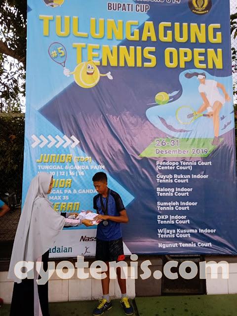 Libas Unggulan 3, Kera Ngalam Kampiun Kejurnas Tenis Piala Bupati Tulungagung 2019