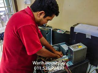Warih-Homestay-Repair-OKCS-Bangi