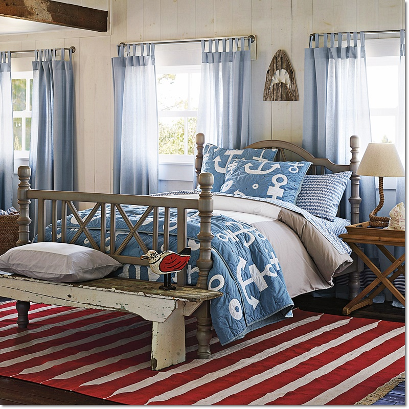 10 Beautiful Beach Themed Bedroom Decorating Ideas - Home ...