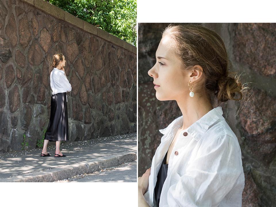 Fashion blogger summer outfit, minimal style - Muotibloggaaja, kesäasu, minimalistinen tyyli
