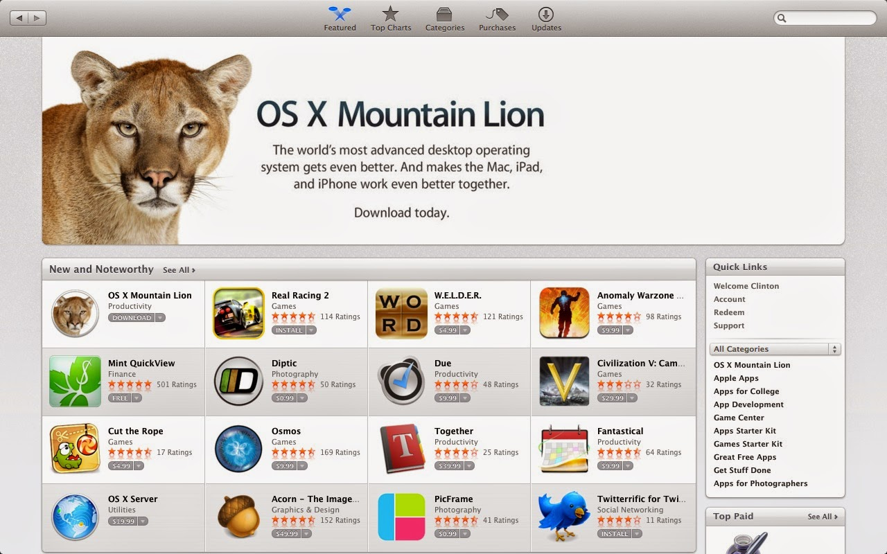 How to download mac os x lion 10.8 for free windows 7