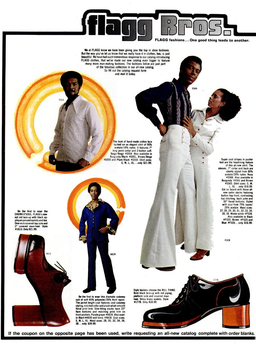 f3b4b99972a Flagg Bros Couture  Vintage Platform Shoes and Super Fly Suits ...