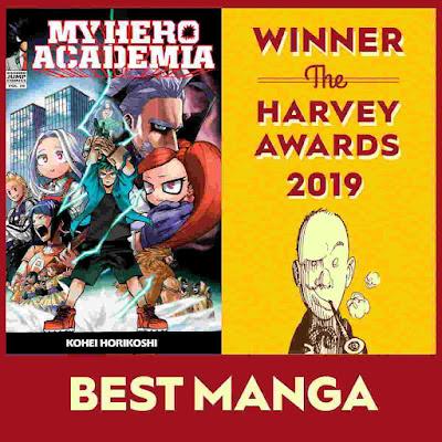 My Hero Academia Menangkan Best Manga di Harvey Awards