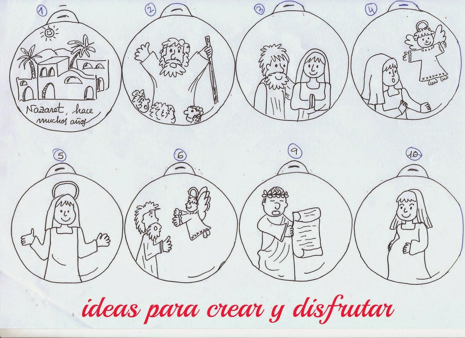 Ideas De Dibujos De Navidad.Ideas Para Crear Y Disfrutar Calendario De Adviento Con