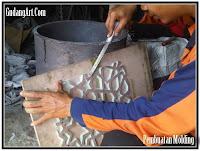 pembuatan molding cor logam