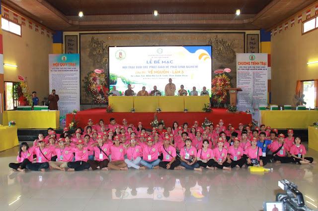 Hơn 1000 trại sinh tham dự lễ khai mạc Hội trại Tuổi trẻ Phật giáo Hệ phái Vĩnh Nghiêm lần 3 với chủ đề 'Về Nguồn' - Ảnh 10