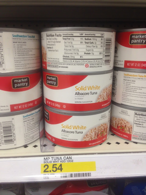 Albacore Tuna, Solid White, Market Pantry, 12 oz - Target