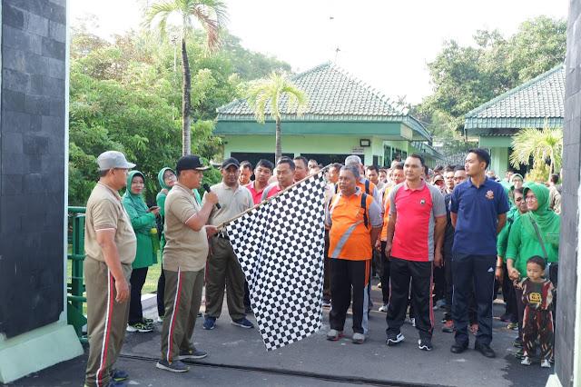 KodimKaranganyar - Sinergitas Tiga Pilar Dalam Perayaan Hari Juang TNI-AD Tahun 2019