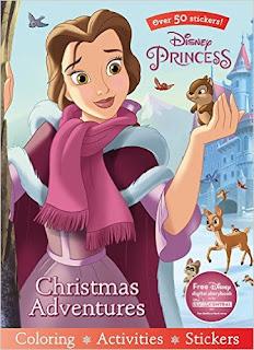 Disney Princess Christmas Adventures (Sticker Scenes & Coloring Book) PDF