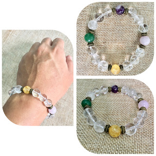 All-in-one Lucky Charm Crystal Bracelet