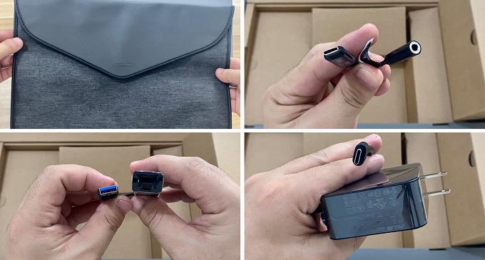 ASUS Zenbook 13 UX325 Unboxing Items
