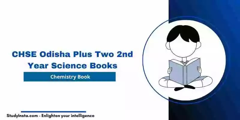 CHSE Odisha Chemistry Book PDF - Plus Two 2nd Year Science 2021
