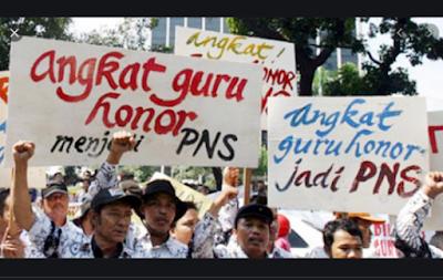 Dana POP Rp. 595 Miliar Lebih Baik untuk Angkat Guru Honorer jadi PNS dan PPPK