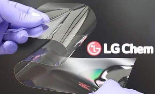 LG develops technologies beyond foldable glass