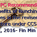 7th CPC Recommendations- Benefits of Bunching of Stages in the revised pay structure under CCS (RP) Rules, 2016- Fin Min Order