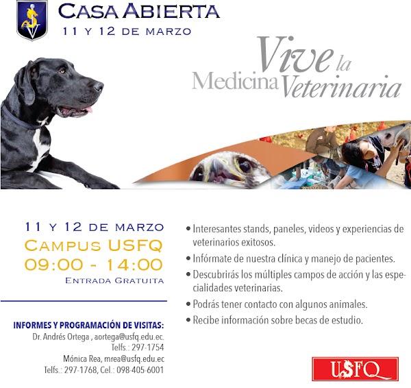 """Casa Abierta de """"Medicina Veterinaria"""""""