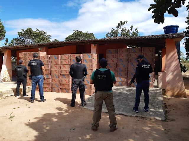 Polícia Civil deflagra operação e apreende cigarros contrabandeados