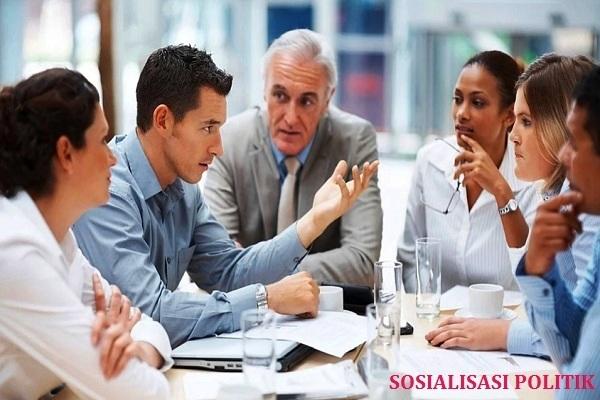 7 Cara melakukan sosialisasi politik, Tipe dan Contohnya   pembelajaranmu.com