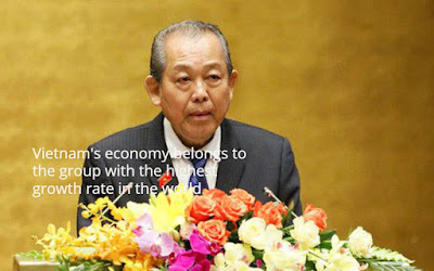 Vietnam's economy belongs to the group with the highest growth rate in the world