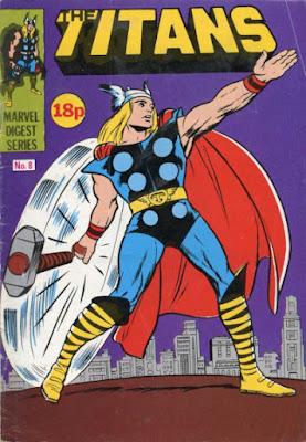 The Titans pocket book #8, Thor