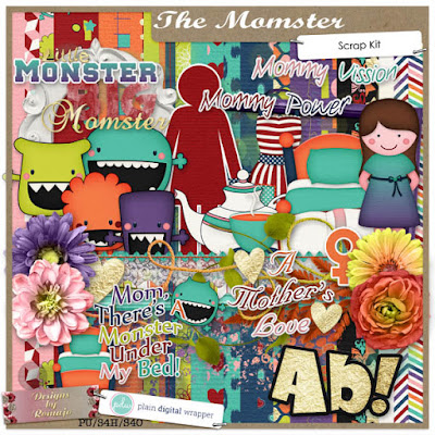 DSD Weekend is here!PDW-bloghop: The Momster