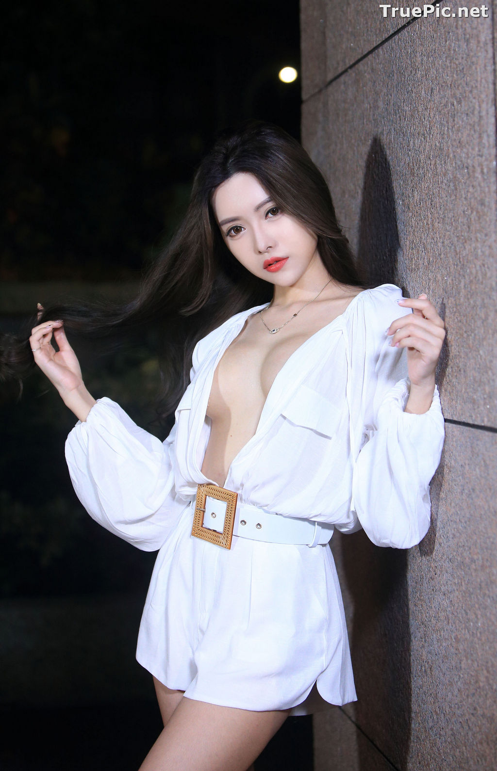Image Taiwanese Model – 莊舒潔 (ViVi) – Sexy and Pure Baby In Night - TruePic.net - Picture-62