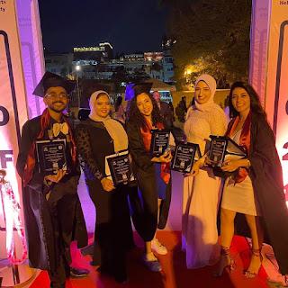 حفل تخرج دفعة ٢٠٢١ لكلية الفنون الجميلة جامعة حلوان .