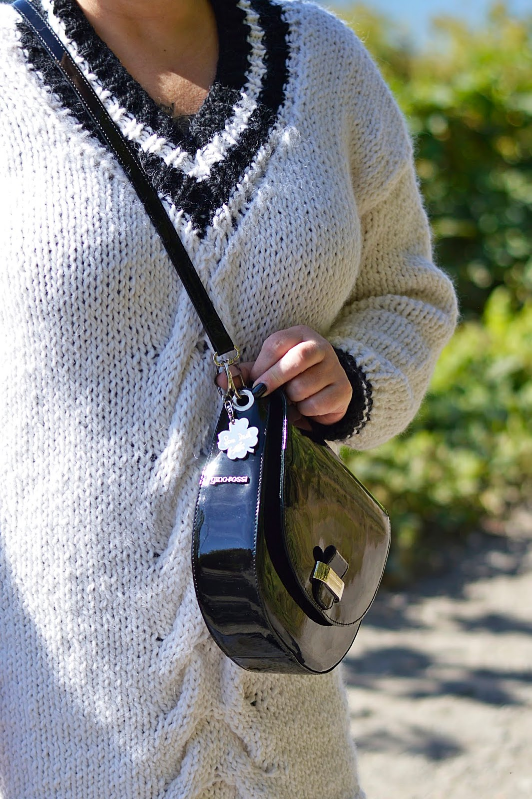 Hand made knitting, hand made sweater