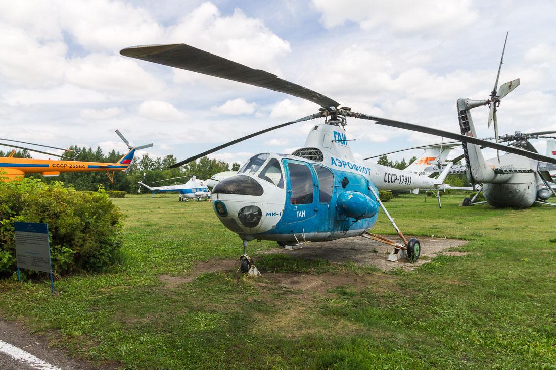 Вертолёт Ми-1