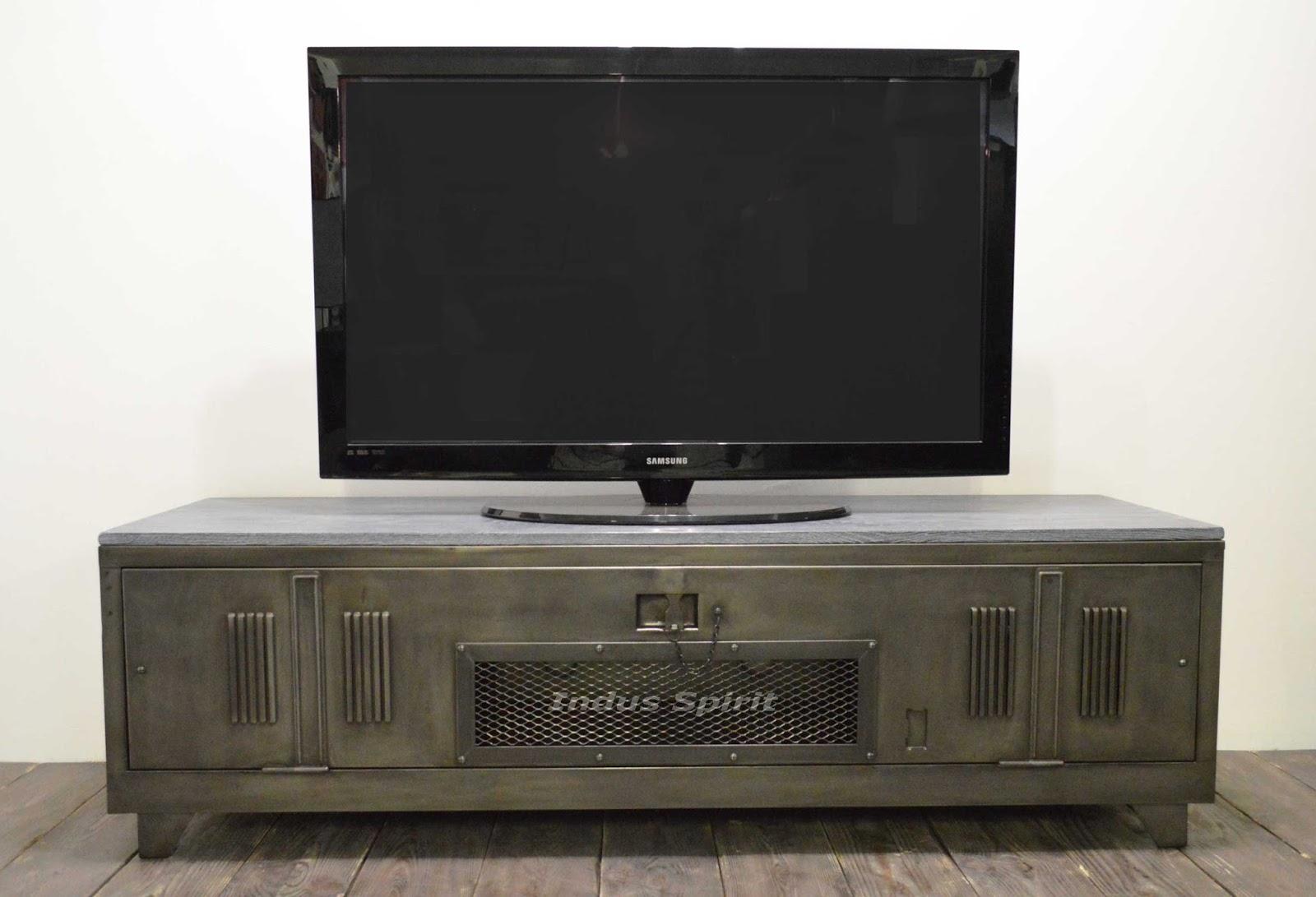 Meuble tv renover sammlung von design - Renover un meuble industriel ...