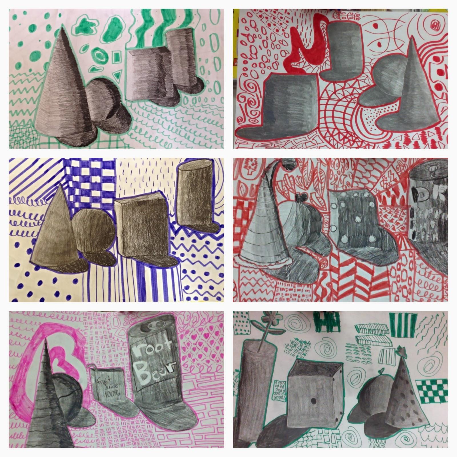 Art Eat Tie Dye Repeat 5th Grade Still Life Realism