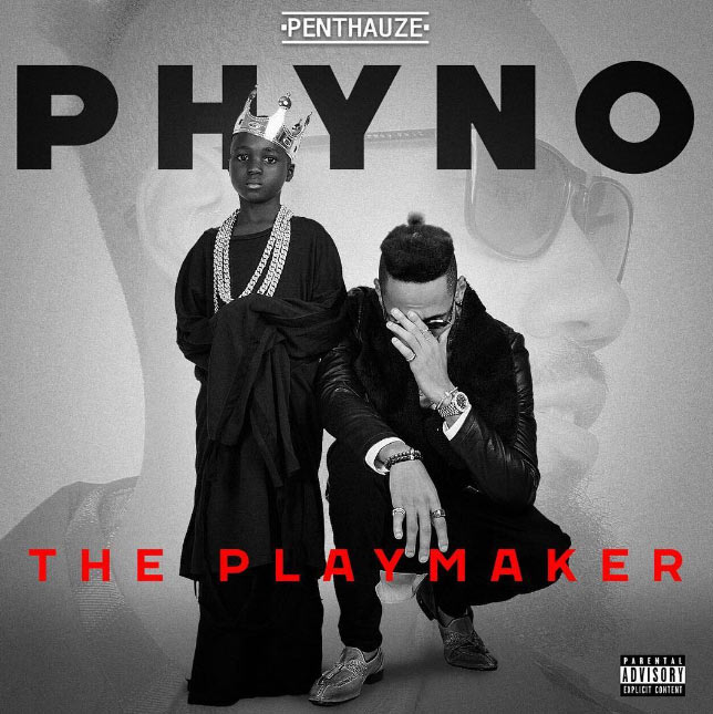 "Check out the album art and tracklist for Phyno's new album, ""The Playmaker"""