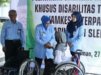 Sleman Berikan Layanan Kesehatan dan Alat Bantu Bagi Disabilitas
