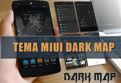 download Tema MIUI Dark Map Mtz Terbaru For Xiaomi