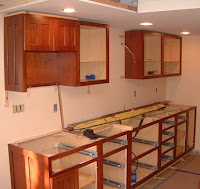 Install Cabinets Screws