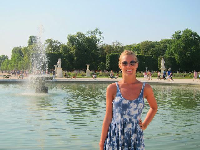 Maxime i Jardin des Tulieries