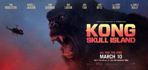 Kong Skull Island: Film King Kong 2017 Lebih Besar Dan Lebih Buas