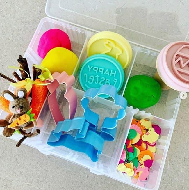 diy easter playdough kit