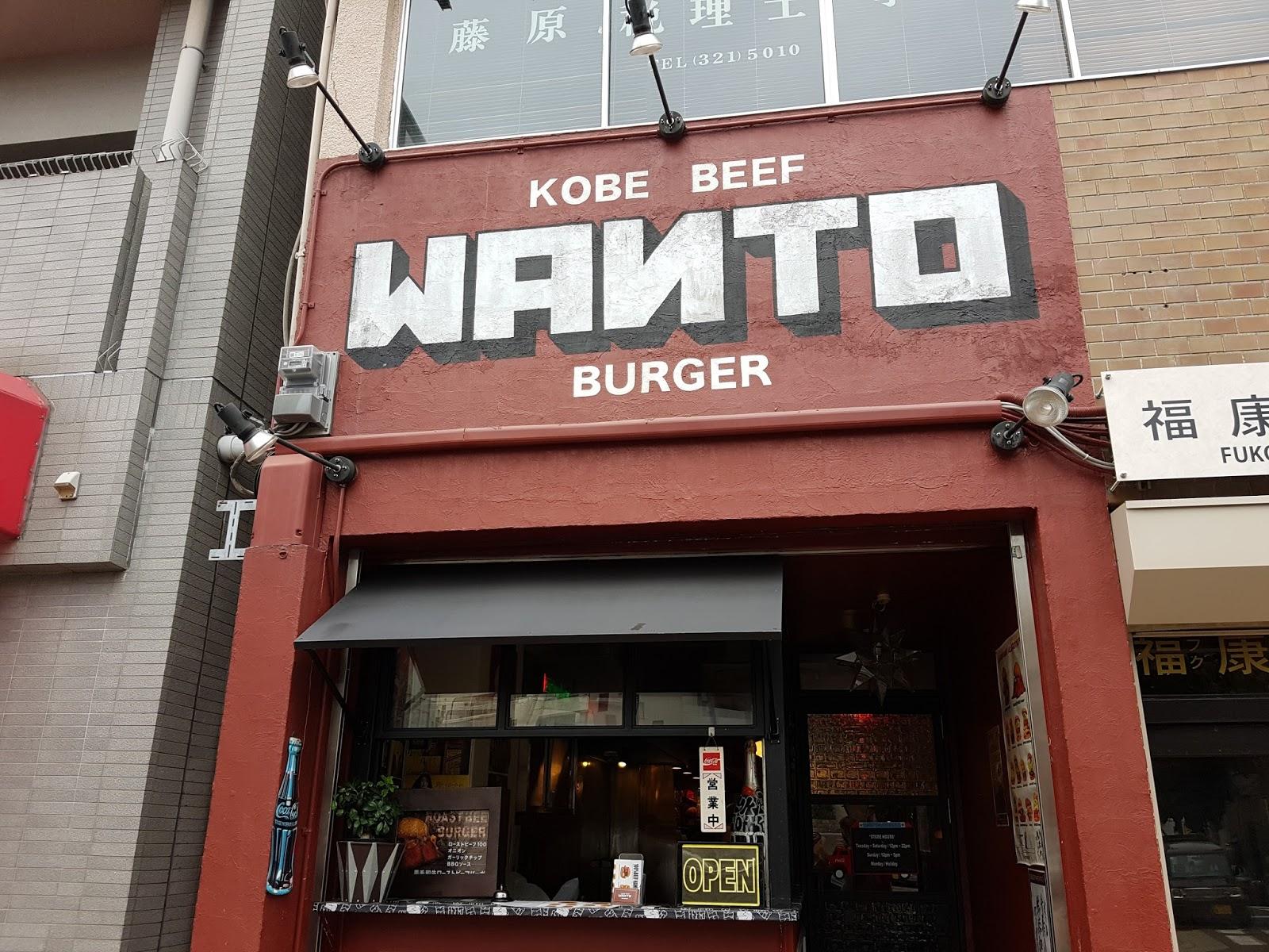 Wanto Burger, Kobe