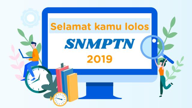 Pengumuman Lulus SNMPTN 2019