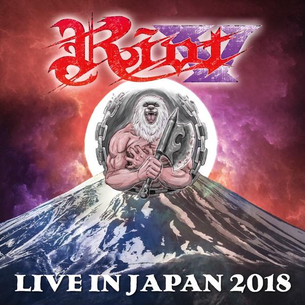 "Riot V: disponível ""LIVE IN JAPAN 2018"" EM CD DUPLO + DVD [VALHALL MUSIC/SHINIGAMI RECORDS]"