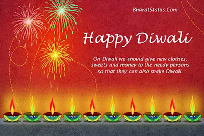 Diwali images with status in hindi