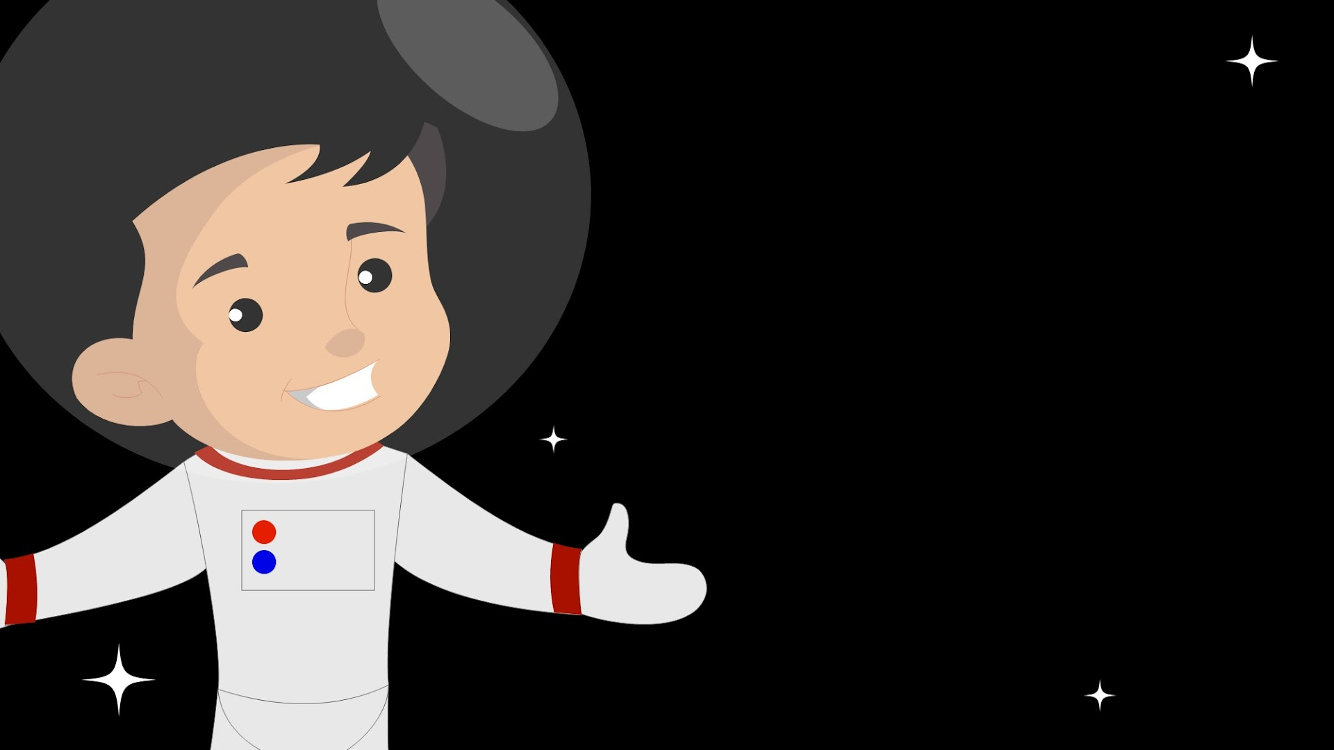 Astronaut Kids Background