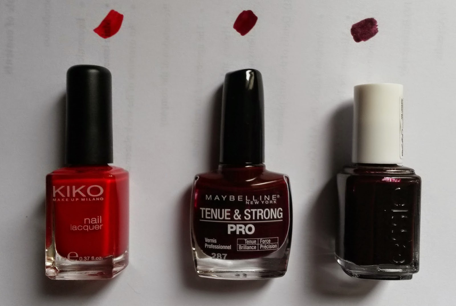 TAG Crazy about nail polish vernis rouges